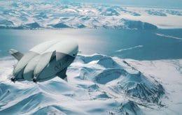 Aventura épica: Startup sueca quer levar passageiros ao Polo Norte em um dirigível