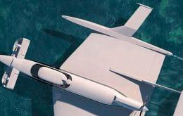 Ecranoplano Aquas, mistura de barco e planador, chegará ao mercado em 2024
