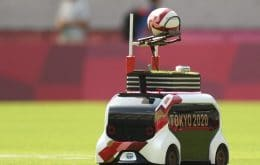 """""""Gandula robot"""" steals the show at the Tokyo Olympics"""