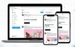 Twitter ganha nova fonte e altera visual da versão web