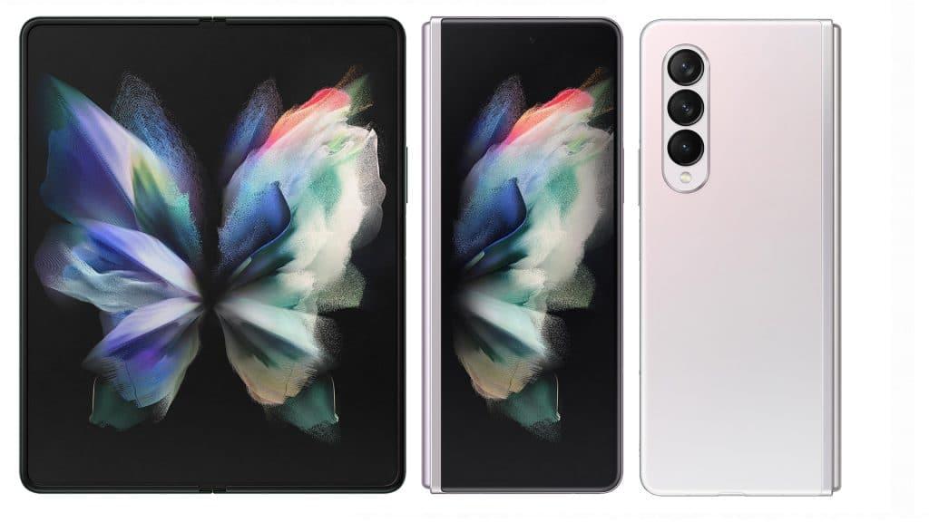 Imagem mostra renderização conceitual do Galaxy Z Fold 3. Preços do Galaxy Z Fold 3, Z Flip 3 e Galaxy Buds 2 foram vazados na Europa