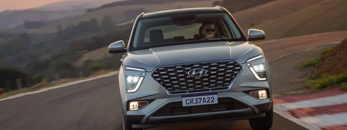 Imagem promocional do novo Hyundai Creta