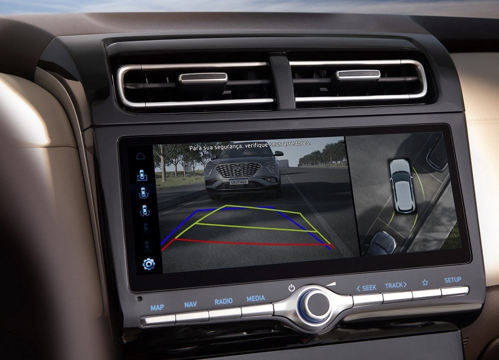 Sistema de monitoramento de ponto cego do Hyundai Creta
