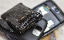 Samsung Galaxy A21 pega fogo em cabine de avião nos EUA