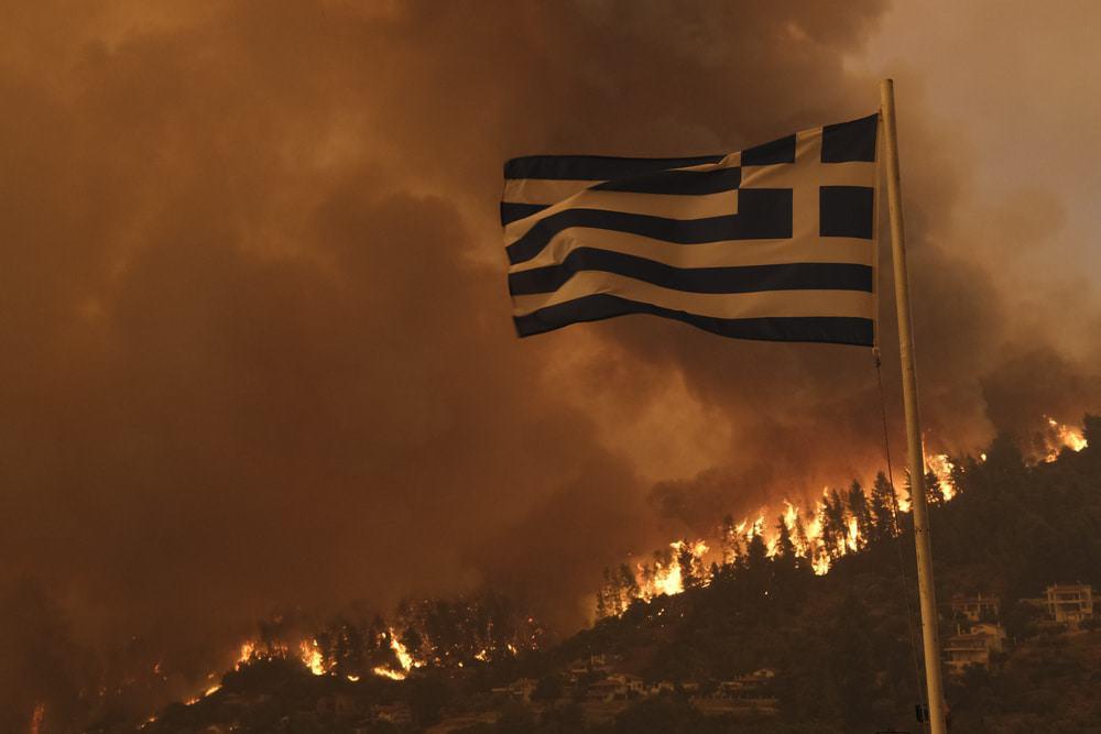 incêndios florestais Grécia
