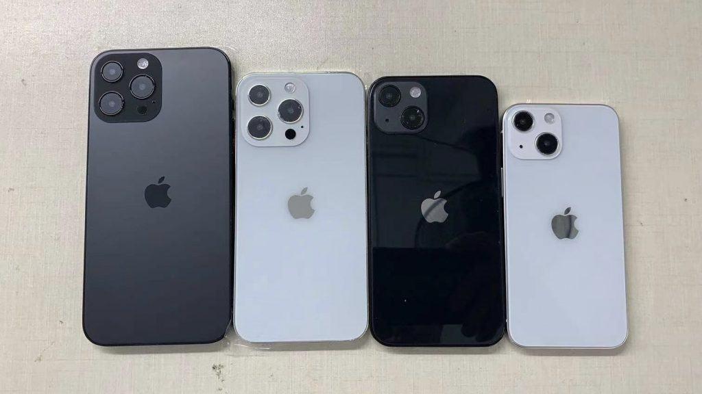 Supostos iPhones 13 (Imagem: divulgação/SonnyDickson)
