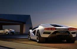 Um clássico renasce: Lamborghini lança novo 'Countach' com motorização híbrida