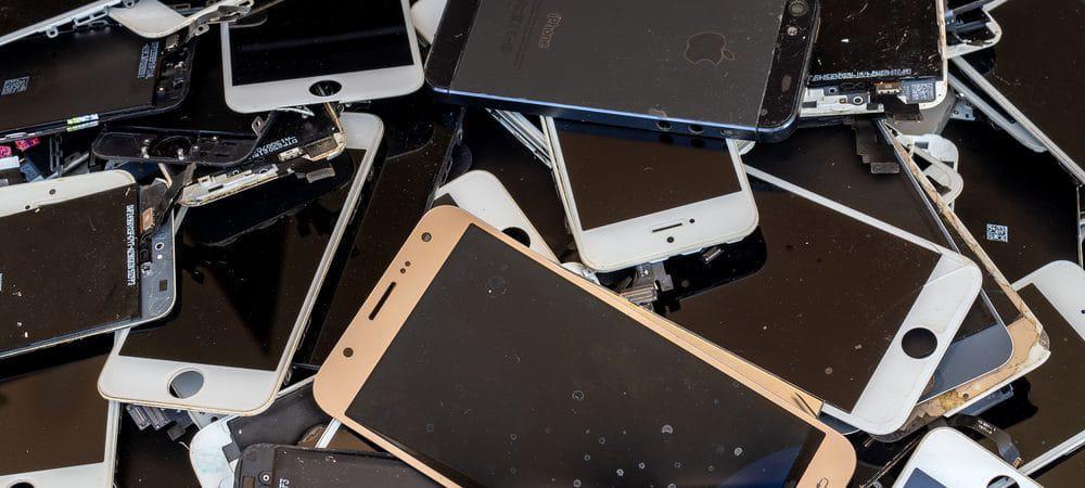 smartphones lixo