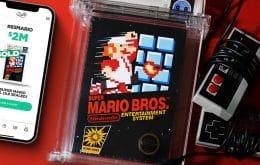 ¡Es un récord! Se vende copia de 'Super Mario Bros' por más de R $ 10 millones
