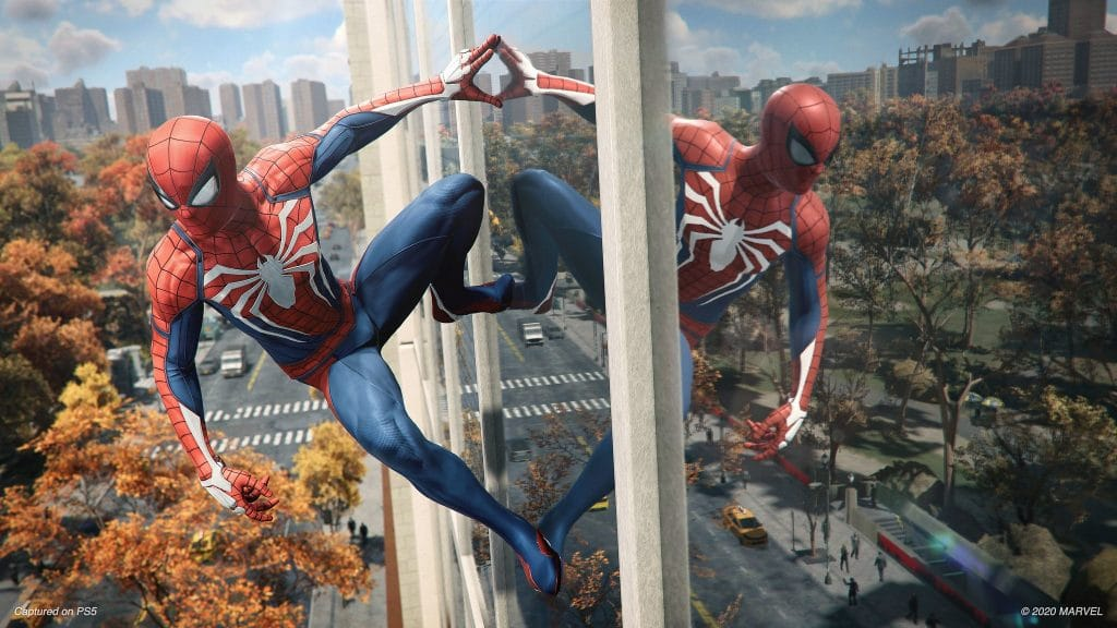 spider-man ray tracing