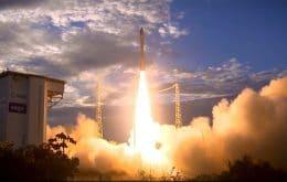 Satélite da Airbus vai ao espaço a bordo de um foguete Vega