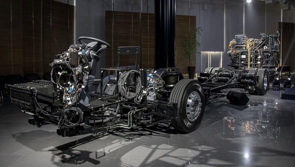 Chassi eO500U, da Mercedes-Benz
