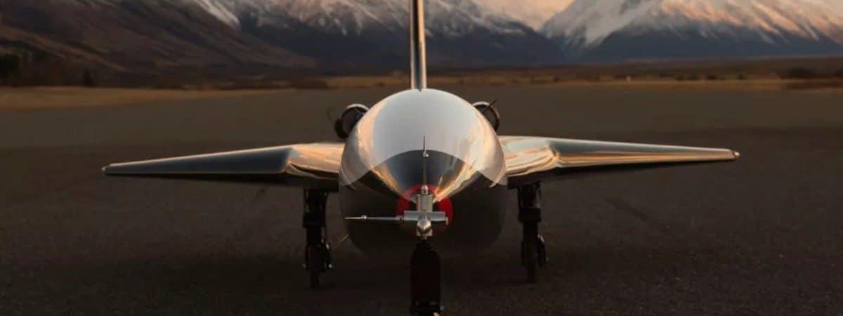O avião sub orbital Mk-II Aurora, da Dawn Aerospace