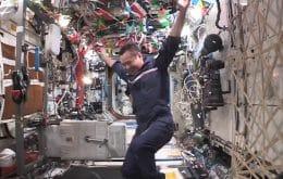¿Olimpiadas espaciales? Los astronautas de la ISS crean deportes ingrávidos