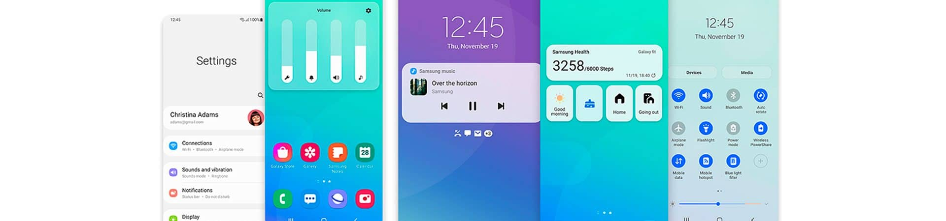 Samsung deve lançar OneUi 4.0 junto com Android 12. Imagem: Samsung