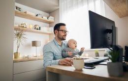 Home office melhorou o sono de pais e bebês