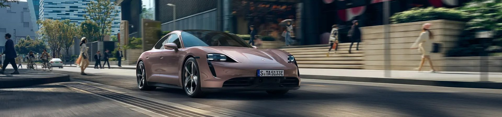 Porsche Taycan: imagem promocional