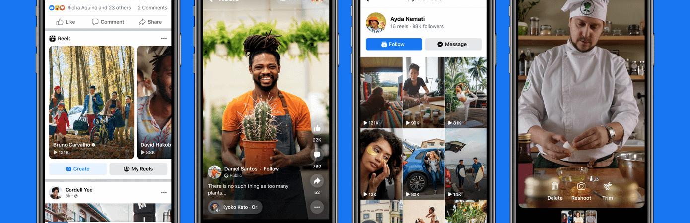 Facebook Reels: testes com cópia do TikTok começam nos EUA