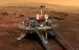 Marte: rover chinês supera expectativas e continua missão no Planeta Vermelho