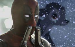 Ryan Reynolds revela que a Disney negou um crossover de 'Deadpool' com 'Bambi'