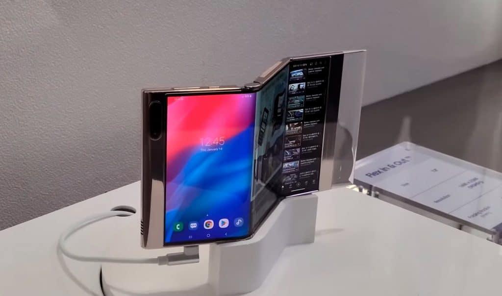 Samsung apresenta protótipo de dispositivo multidobrável