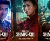 Marvel divulga seis novos pôsteres de 'Shang-Chi e a Lenda dos Dez Anéis'; confira