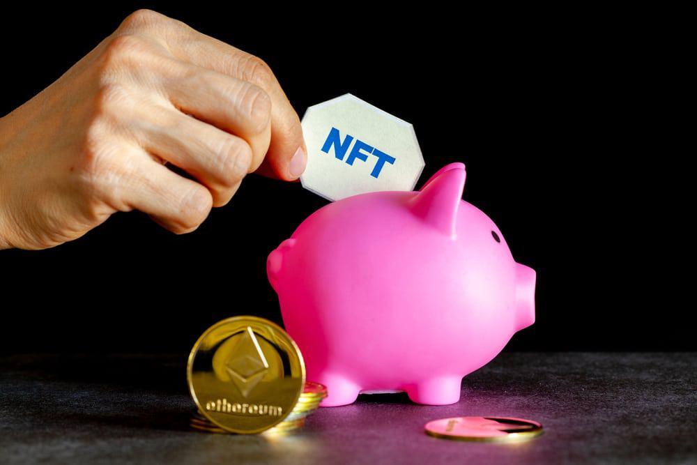 Imagem ilustra o investimento em Tokens Não Fungíveis, conhecidos como NFTs