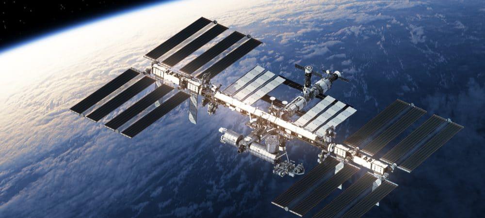 Imagem mostra a Estação Espacial Internacional, que serve como molde para uma empresa que quer criar uma estação espacial privada