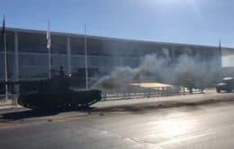 Meet Bolsonaro's parade tank that went viral on the internet by black smoke
