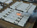 Duas Baterias Megapack da Tesla pegam fogo na Austrália em meio a testes