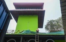 Controversia en India: Inaugurada torre de limpieza de aire de 2 millones de dólares