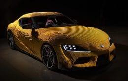 Fabricada con piezas de Lego, la réplica del Toyota Supra alcanza una velocidad de hasta 28 km / h