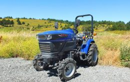 Company launches electric tractor with the objective of making agribusiness more environmentally friendly