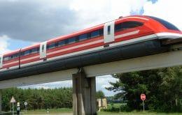 China cria design de trem magnético que pode viajar a 600 km/h