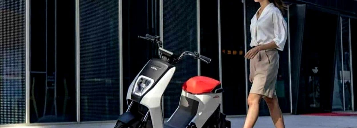 Honda U-BE, scooter a preço de celular