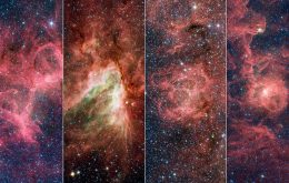 """Cientistas encontram """"ponta solta"""" de estrelas em um dos braços da Via Láctea"""