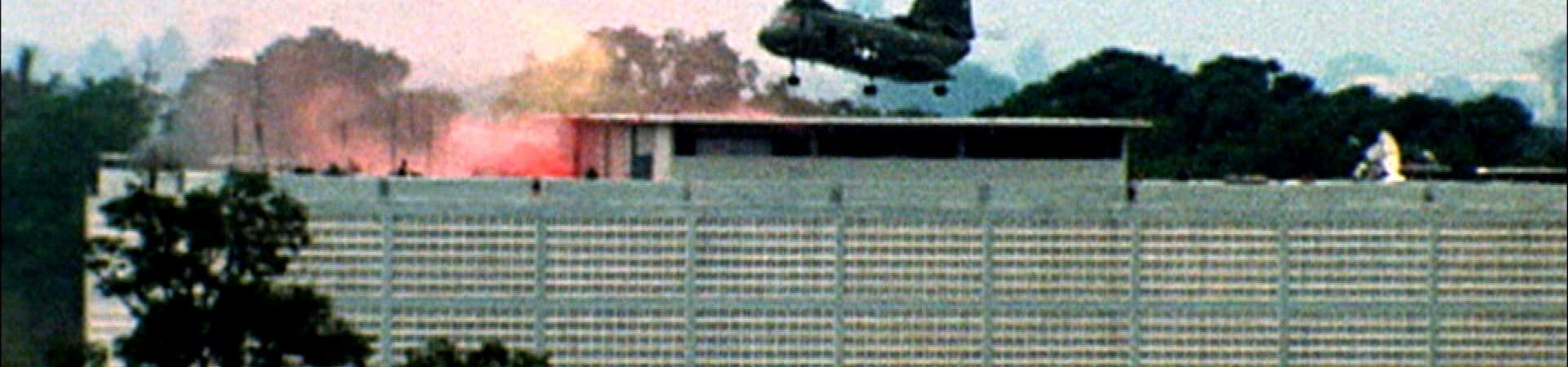 CH-46 helicopter in Saigon rescue