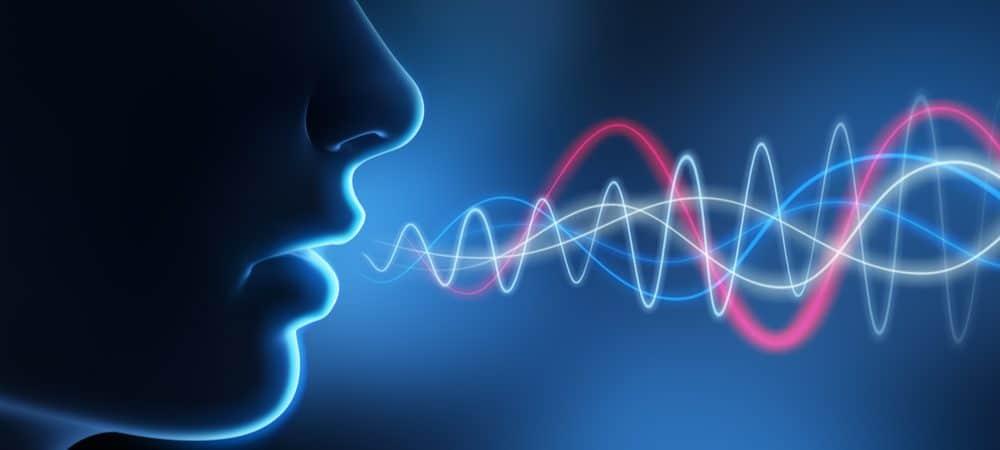 representação gráfica da emissão da voz