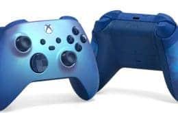 Edição especial: Xbox lança controle 'Aqua Shift'