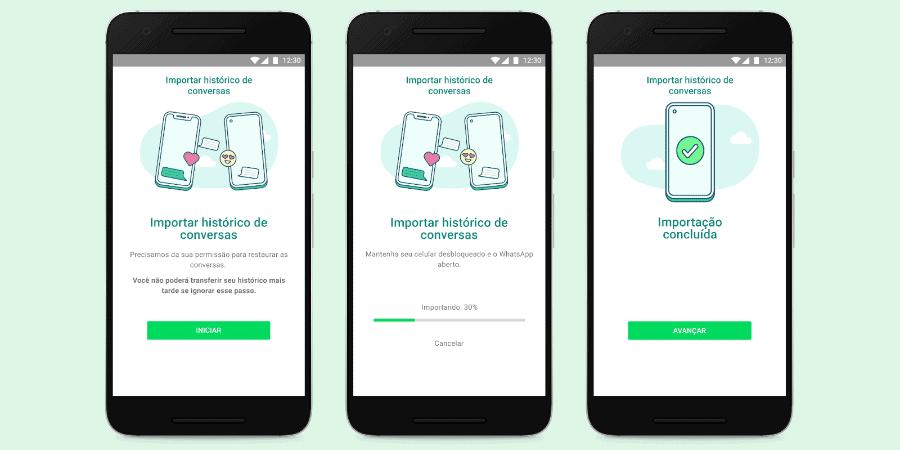 WhatsApp permite migrar conversas entre Android e iPhone; saiba como fazer