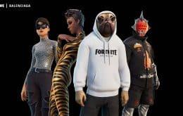 'Fortnite' terá itens de moda da marca de luxo Balenciaga