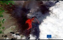Monte Etna: satélites registram 50ª erupção do vulcão no ano
