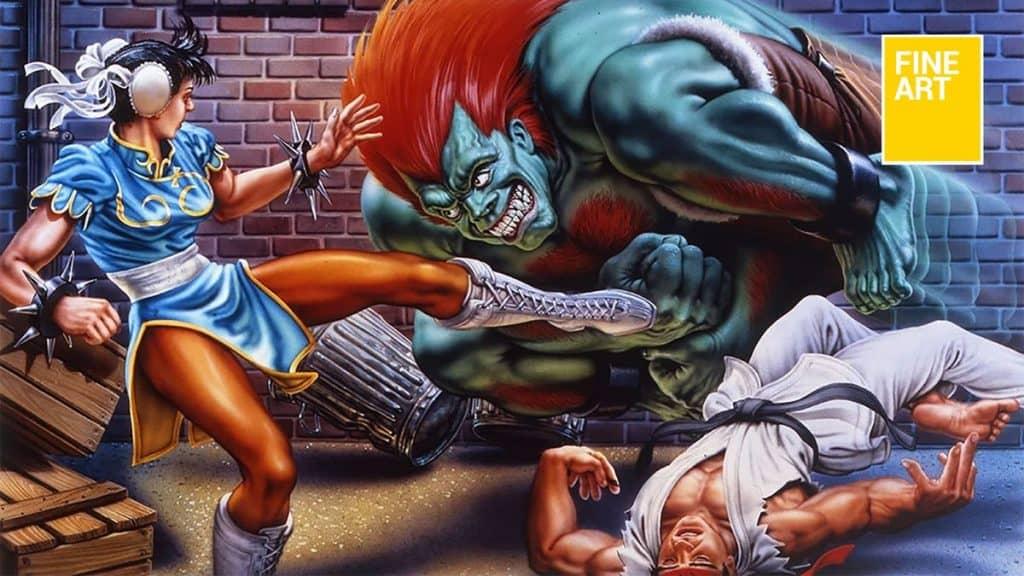 O lendário artista de 'Street Fighter 2', Mick McGinty, faleceu. Imagem: Capcom/Divulgação