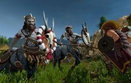 DLC 'Mythos' traz heróis e criaturas mitológicas para o universo de 'Total War Saga: Troy'