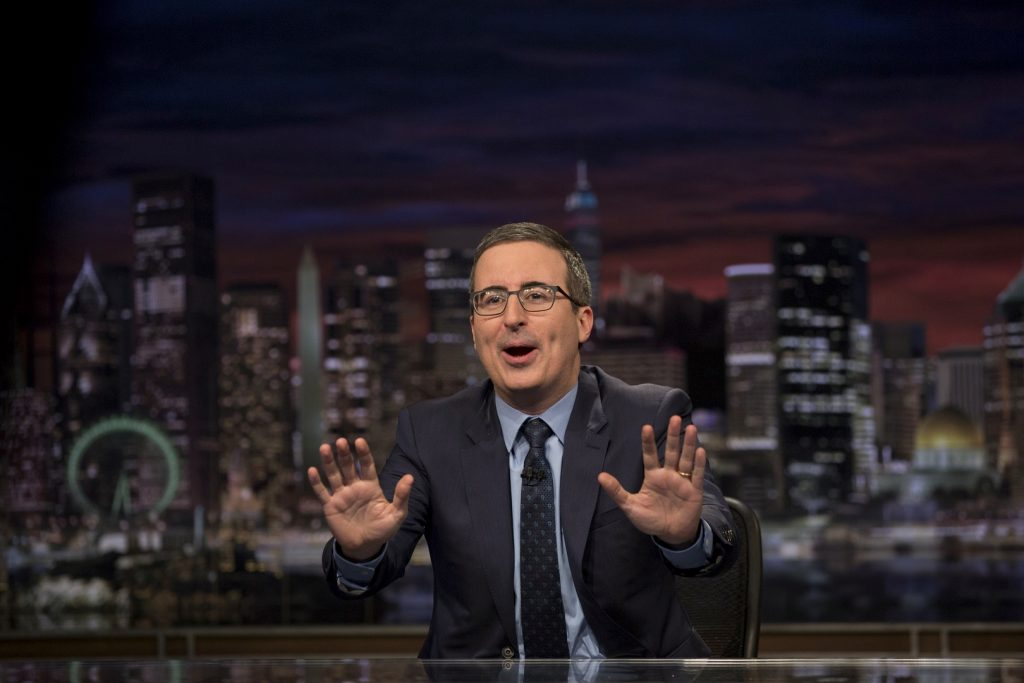 'Last Week Tonight With John Oliver' (HBO)
