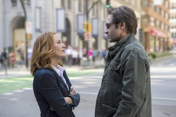 Gillian Anderson e David Duchovny em 'Arquivo X'