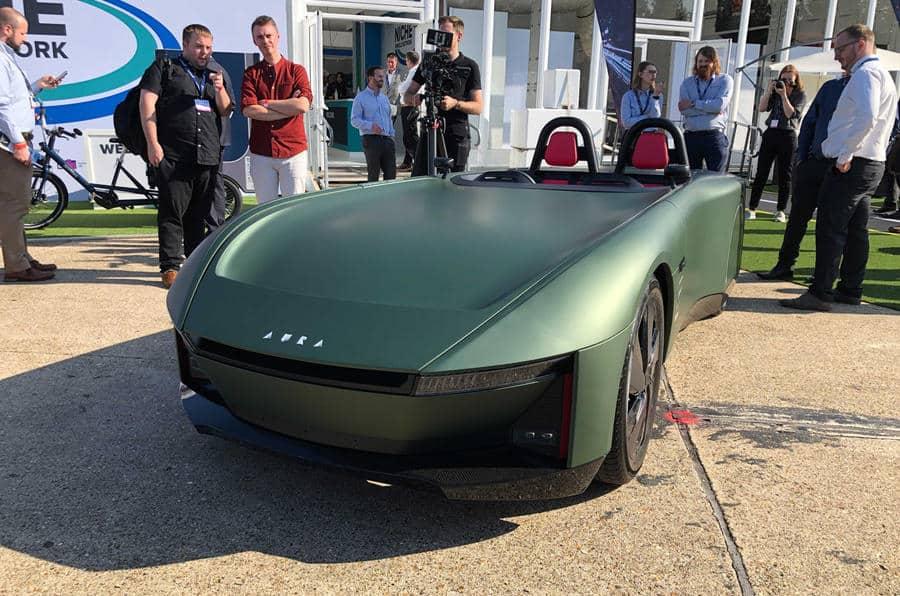 carro conceito elétrico Aura