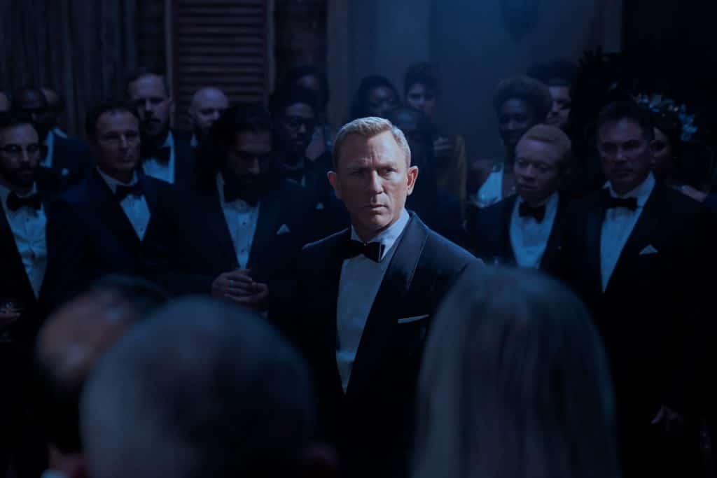 Daniel Craig como James Bond em '007 - Sem Tempo Para Morrer'. Imagem: Nicola Dove/MGM