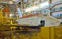 Russia and Kazakhstan vie for incomplete prototype of the Buran space shuttle