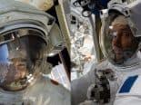 Astronautas se aventuram fora da ISS em nova caminhada espacial; assista